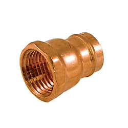 Aqua-Dynamic Fitting Copper Pre-Soldered Female Adapter 1/2 Inch
