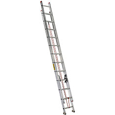 aluminum extension ladder 24 Feet  grade III