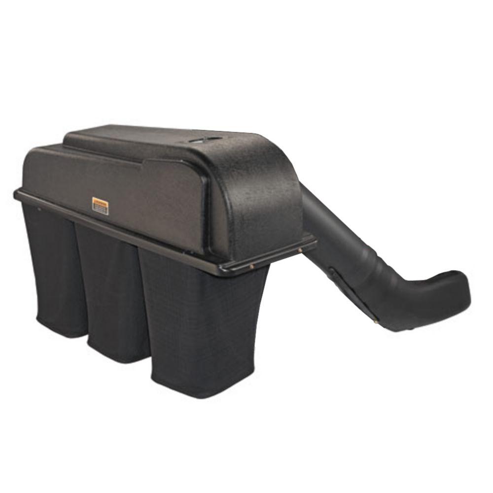 Collecteur dherbe à trois sacs pour plateau de coupe de 50 po