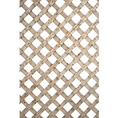 2 Feet X 8 Feet Proguard Treated Lattice