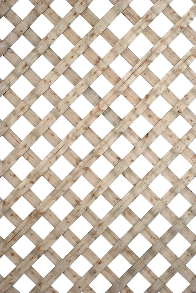 SUNTRELLIS 2 Feet X 8 Feet Proguard Treated Lattice