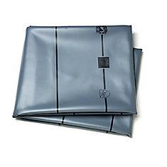 5 Feet.  X 6 Feet.  40mil Gray Pvc Liner Kit*