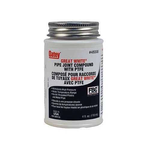 Oatey 4 Oz White Pipe Joint Compound