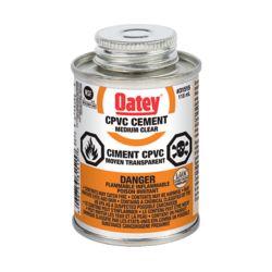 Oatey 118 Ml Cpvc Cement Clear (C)