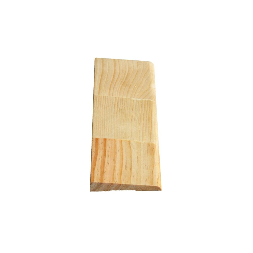 Finger Jointed Pine Bevel Casing 7/16 In. x 2-1/2 In. x 7 Ft.