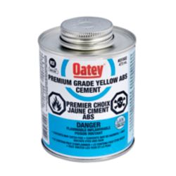 Oatey 473 Ml Abs Cement Yellow (C)