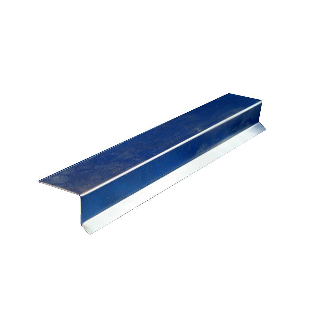 Le Solin Dek-Master  en métal galvanisé  est composé d'un angle droit et d'un larmier anti retour...