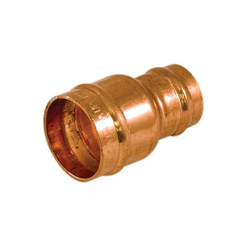 Aqua-Dynamic Fitting Copper Pre-Soldered Coupling 3/4 Inch x 1/2 Inch