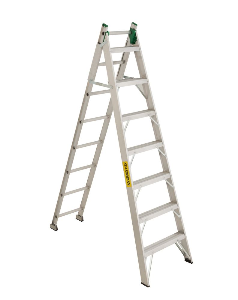 Featherlite convertible ladder 16 Feet  grade II