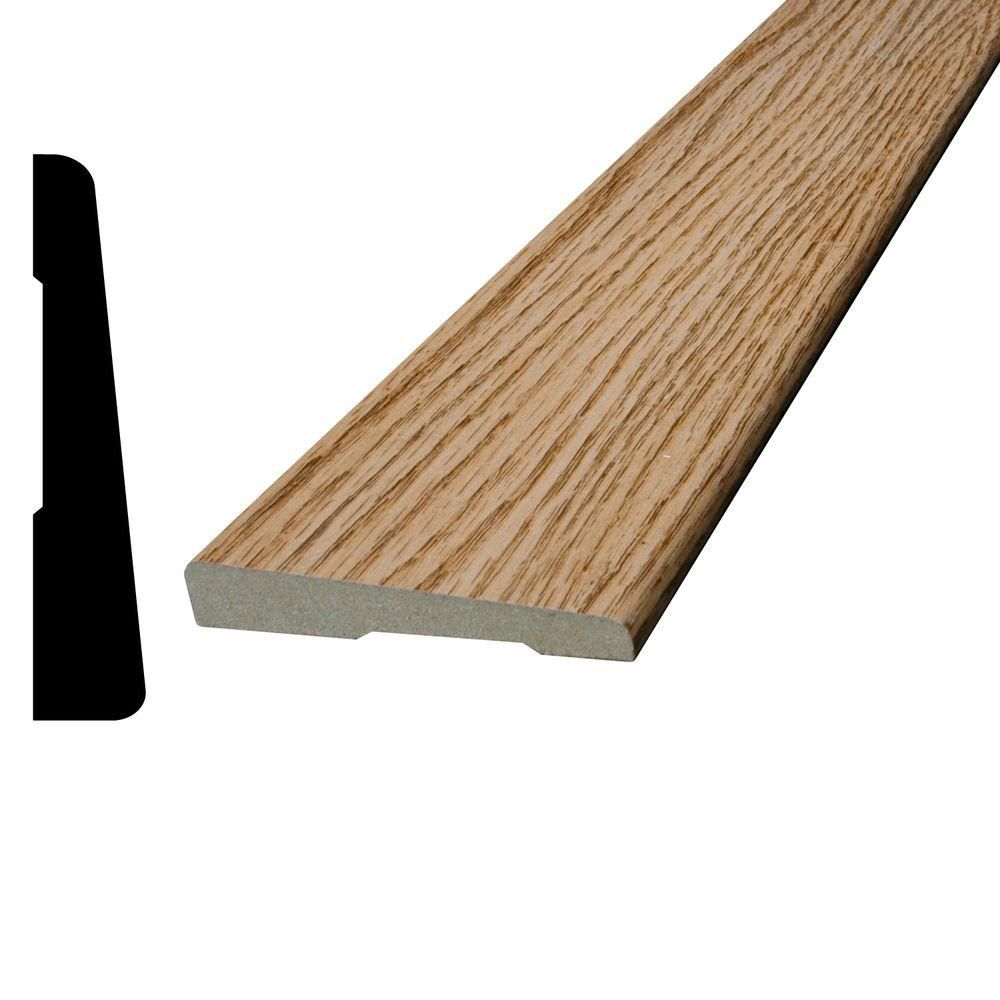 Vinyl Marquis Oak Casing 3/8 In. x 2-1/4 In. (Price per linear foot)