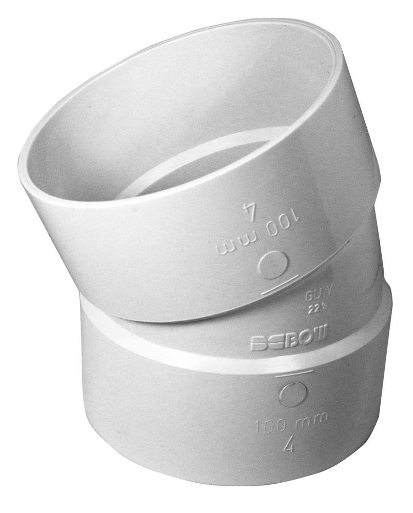 Pvc 4 inch 22-1/2D Elbow