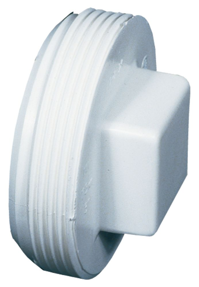 Bow Plastics Ltd Pvc 4 inch Threaded Plug
