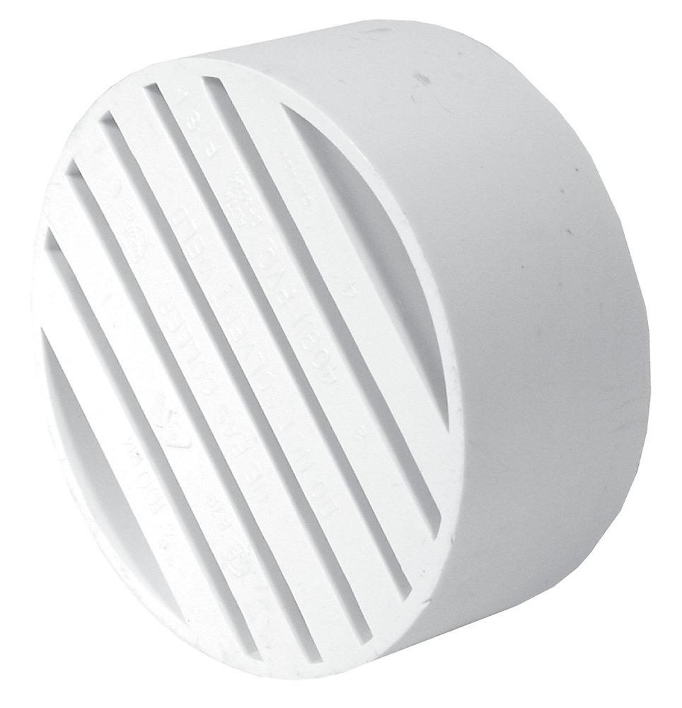 Bow Plastics Ltd Pvc 4 Inch Drain Flange The Home Depot