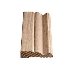 Alexandria Moulding Oak Colonial Casing 3/4 In. x 3-1/2 In. x 7 Ft. 2 In.