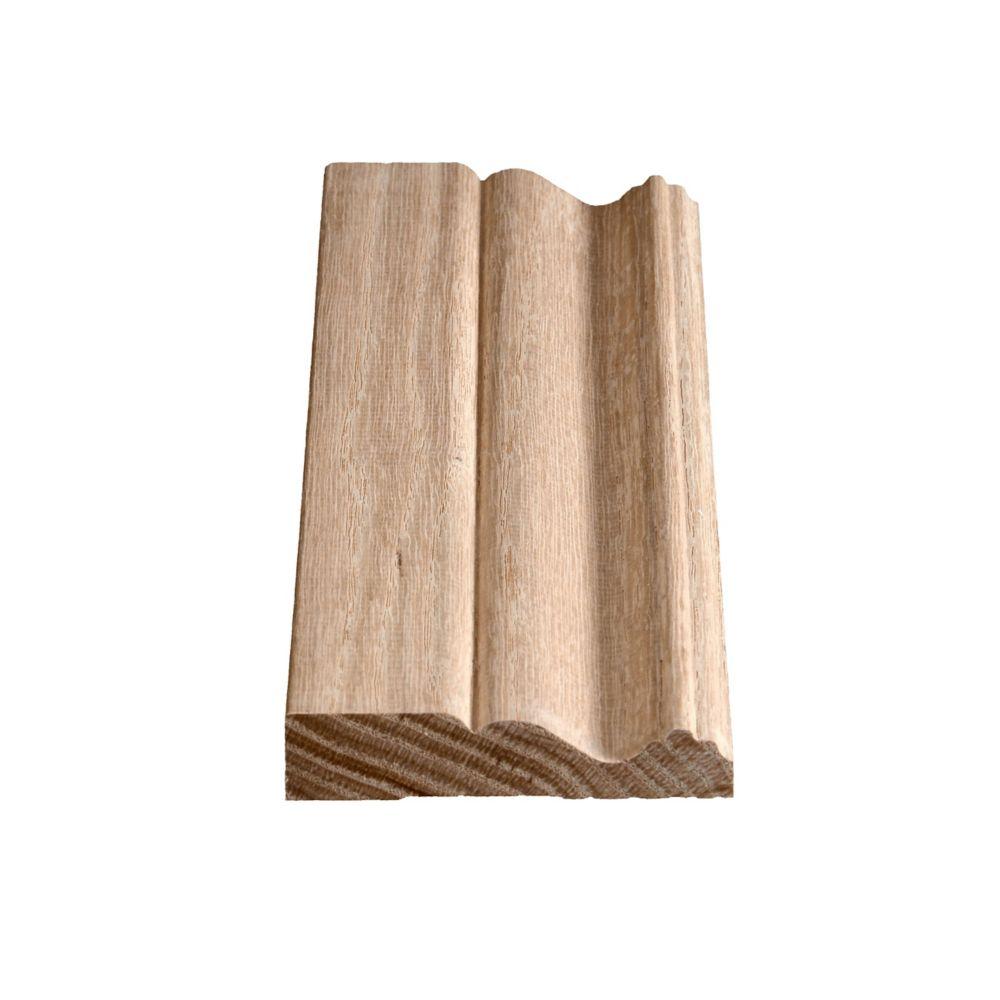 Oak Colonial Casing 3/4 In. x 3-1/2 In. x 7 Ft. 2 In.