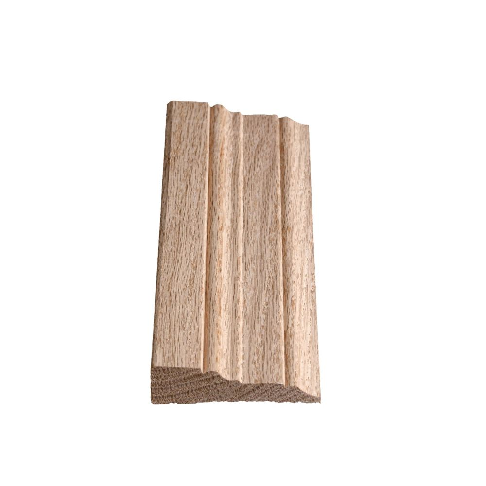 Oak Step Casing 11/16 In. x 2-3/4 In. x 7 Ft. 2 In.
