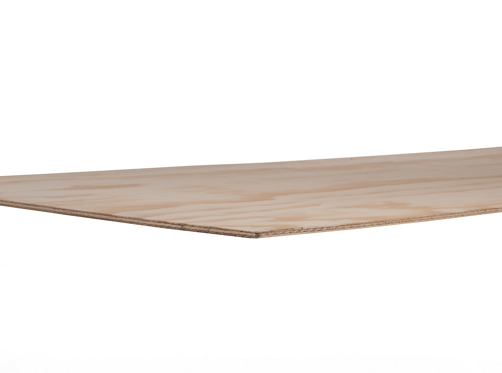 Metrie 1/4 inch Sanded Pine Plywood 1/4 inchX4'X8' | The Home Depot