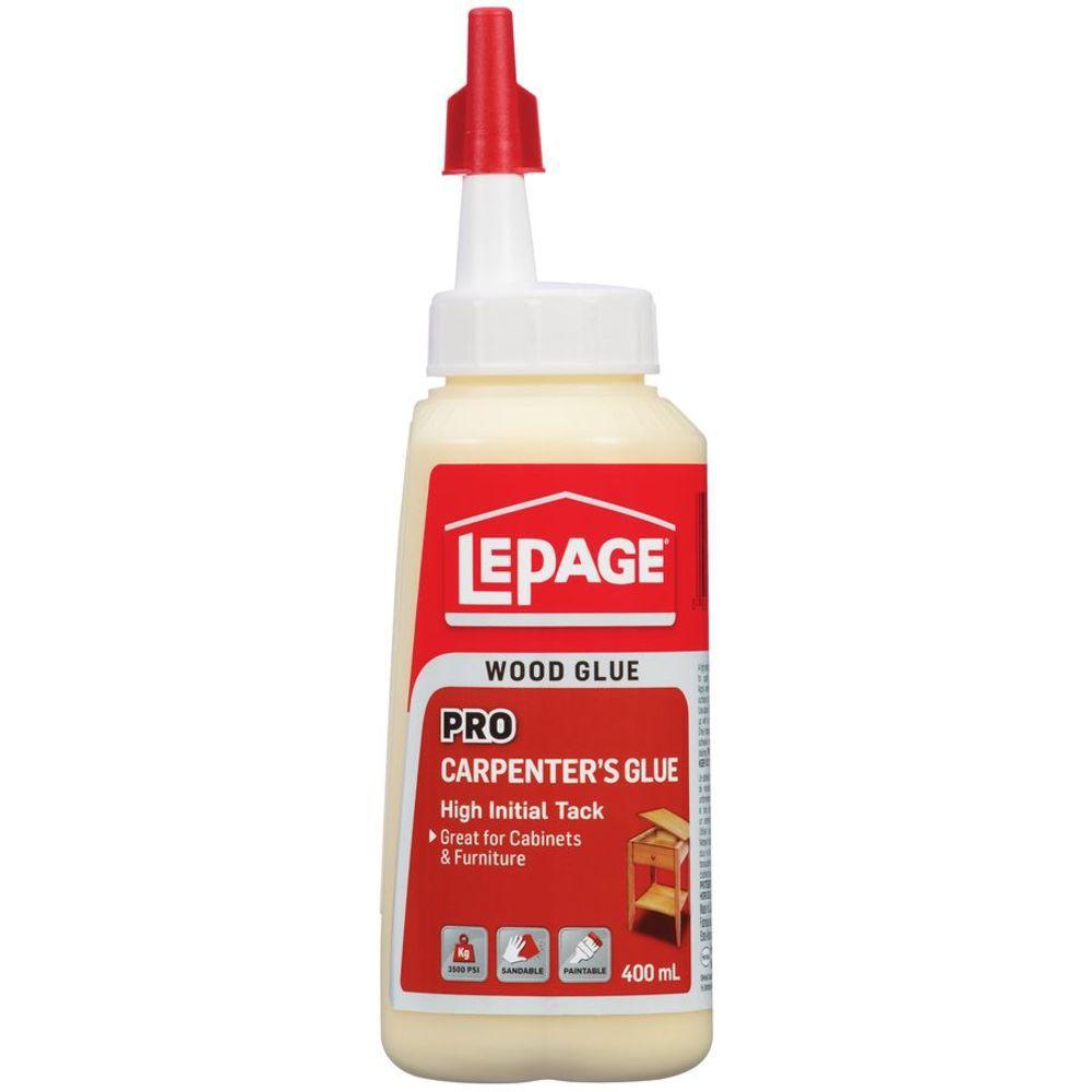 LePage Pro Carpenter's Glue Easy Flow Bottle 400mL