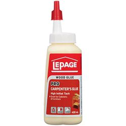LePage Pro Carpenter's Glue Easy Flow Bottle 400mL