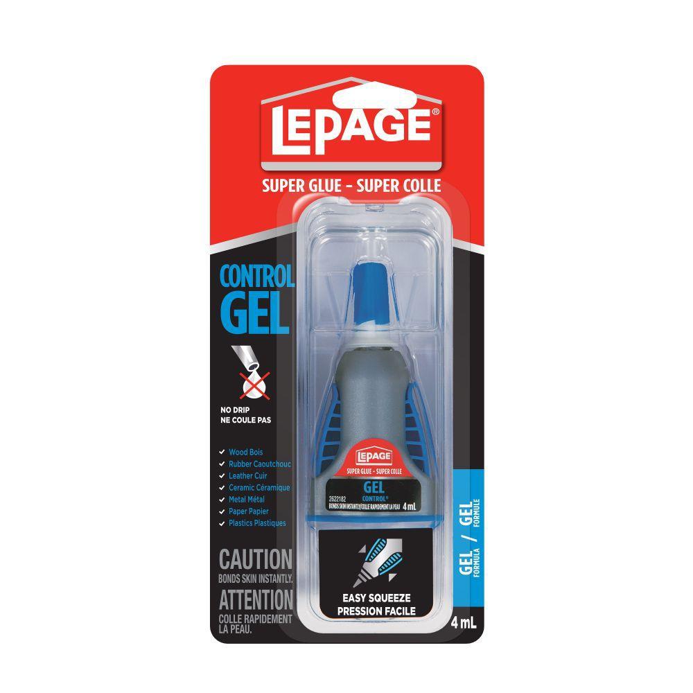 LePage LePage Super Glue Gel Control