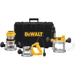 DEWALT DeWALT 2-1/4 HP Three Base Router Kit