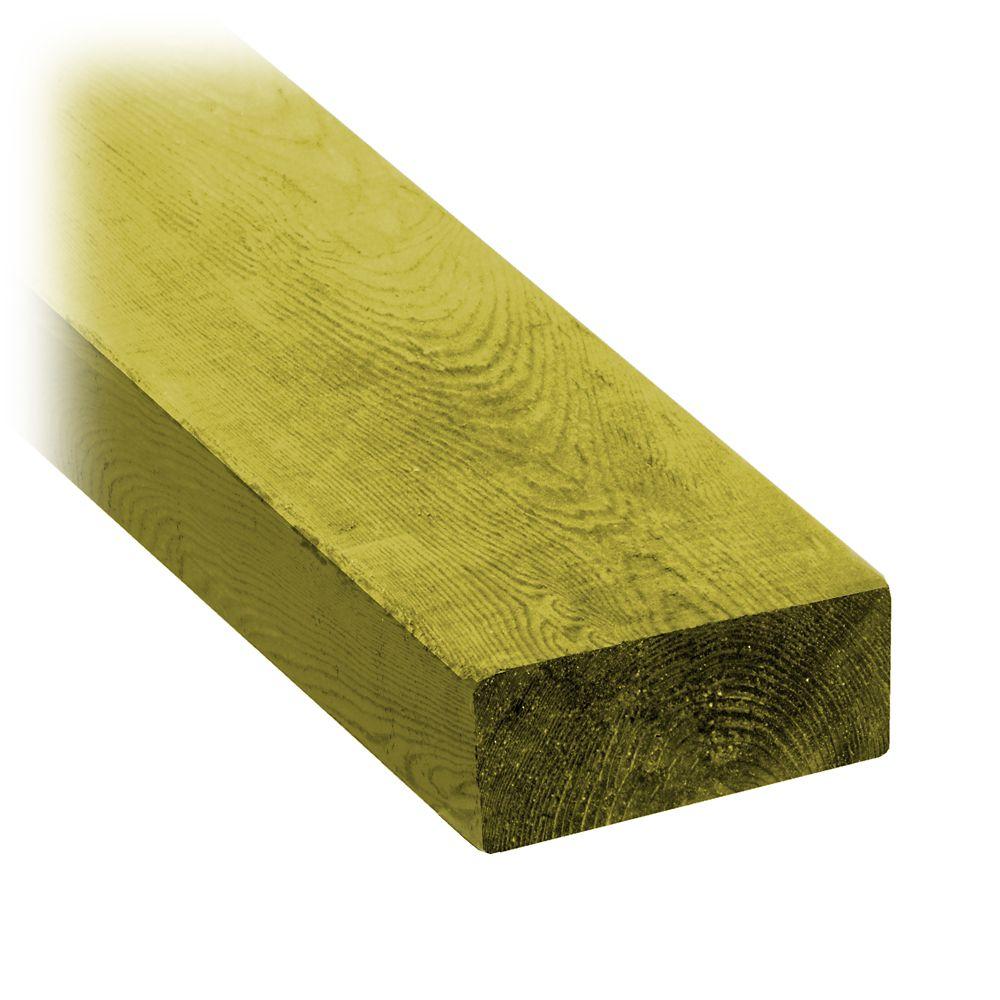 2x4x12 Treated Wood