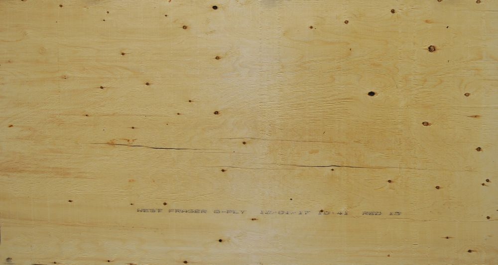5/8 inches 4 ftx8 ft Standard Spruce Plywood Tongue & Groove