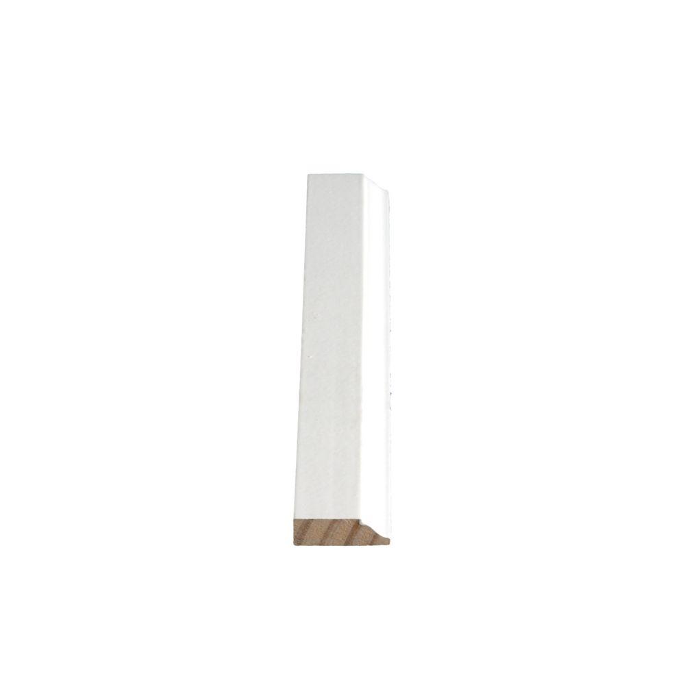 Heurtoir de porte apprêté et jointé, en pin  - 7/16 x 1 1/4 (Prix par pied)