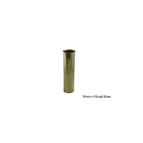 """Brass 1-1/2"""" x 6"""" Rough Brass Flanged Tailpiece"""