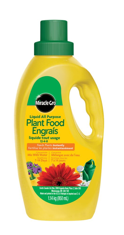 Miracle-Gro All Purpose Liquid Concentrate Plant Food 12-4-8