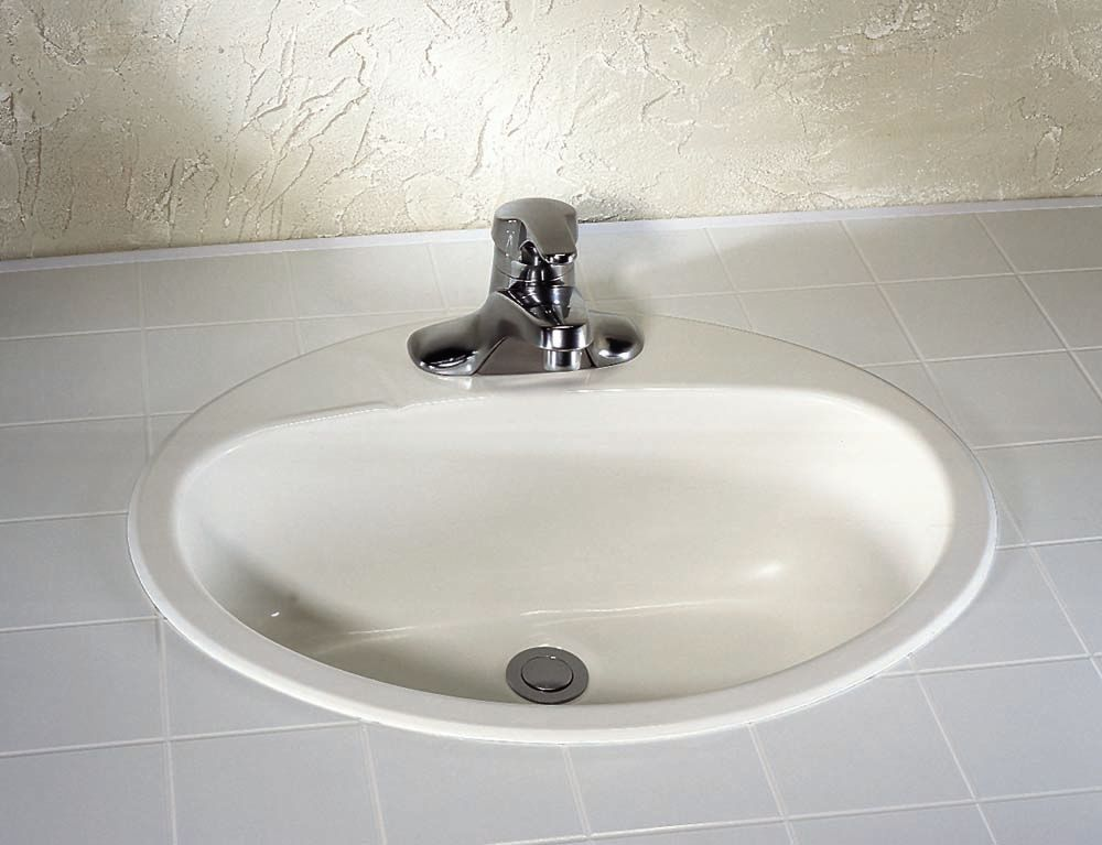 American Standard Ovation 4-inch Bathroom Sink Basin in Enamelled Steel