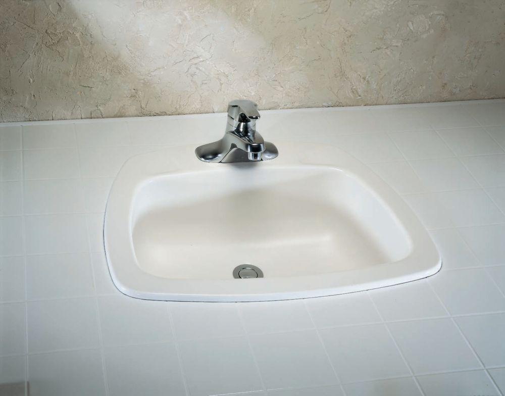 Yorkdale Self-Rimming Sink in Enamelled Steel
