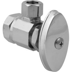 BrassCraft Angle Valve 1/2 Inch Female Iron Pipe Thread X 3/8 Inch Od Compression