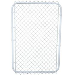 Master Halco White on white gate with 2 Inch mesh 42in x 60 Inch
