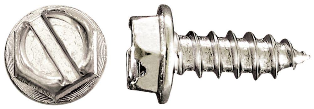 10x5/8 Hex Hd Metal 16Pc Screw