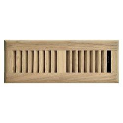 Hampton Bay 3 inch x 10 inch Floor Register - Unfinished Oak