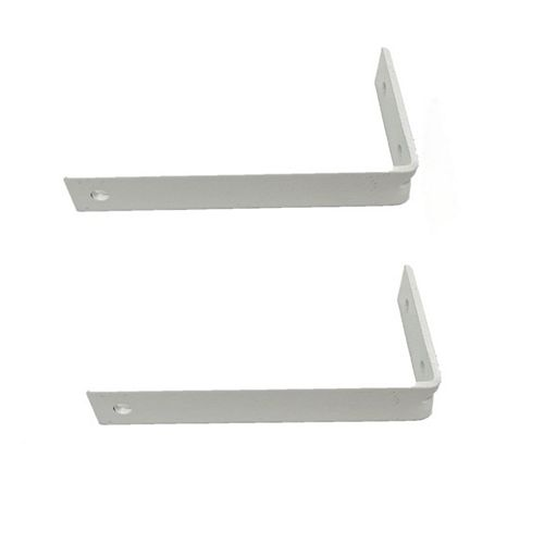 Home Decorators Collection 4-inch I-Beam Projection Brackets in White (2-Pack)