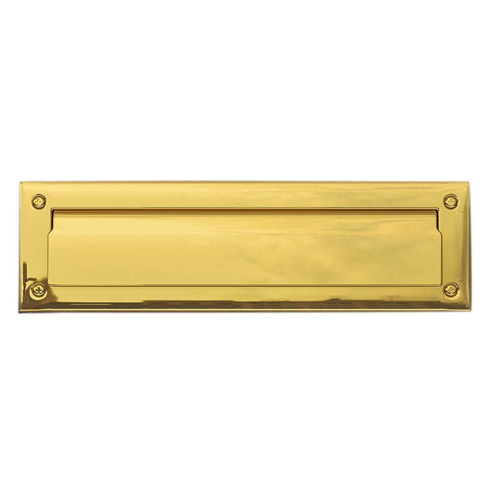 Taymor Brass Letter Slot - Lift Flap | The Home Depot Canada