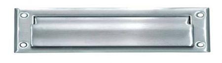 Stainless Steel Letter Slot - Lift Flap