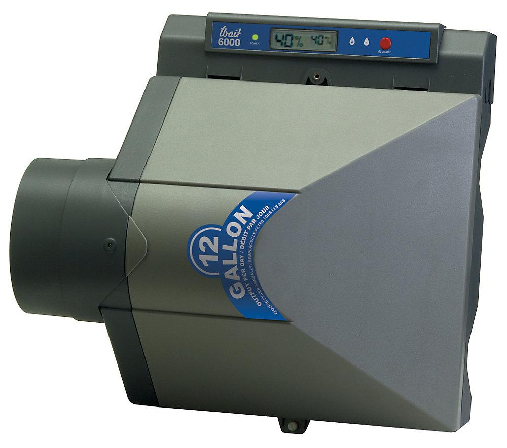 wait 12 gallon flow-through humidifier electronic