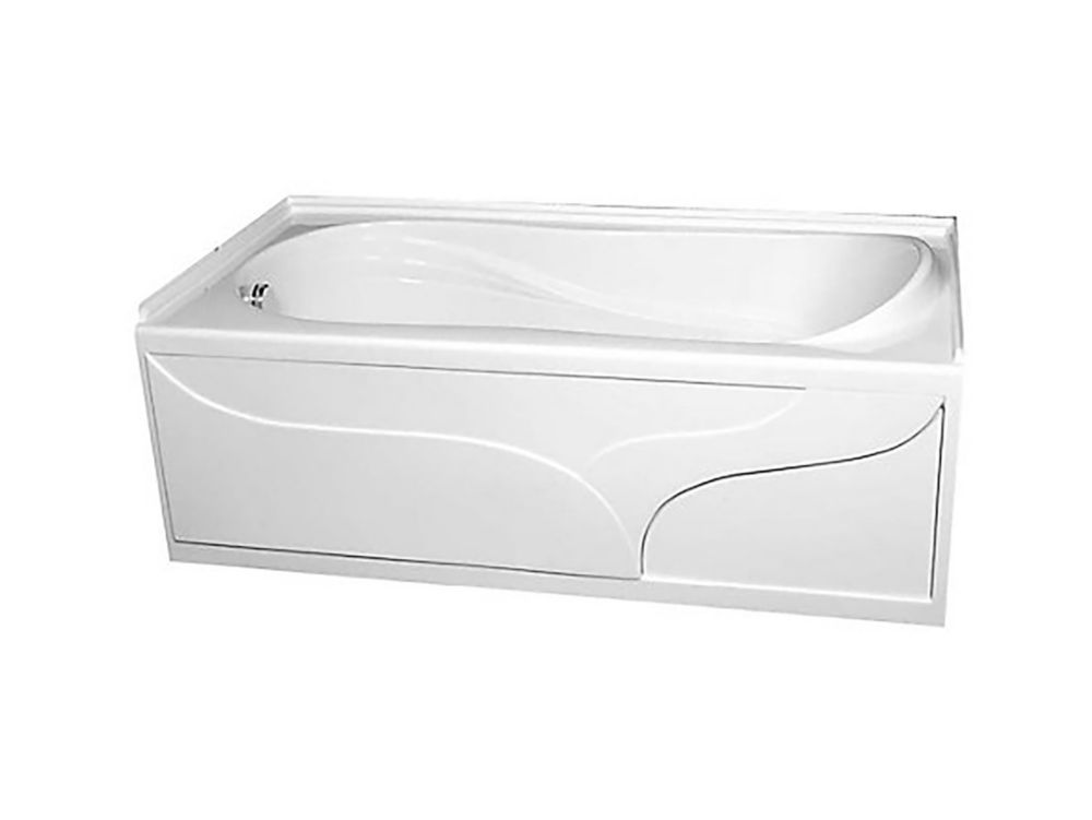 American Standard Plaza Acrylic Bathtub The Home Depot