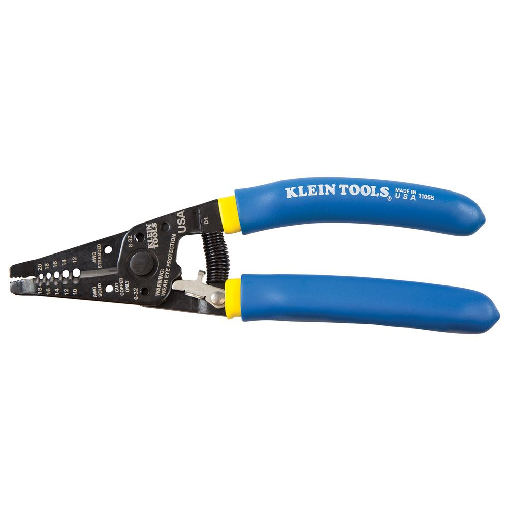 Klein Tools Solid and Stranded Copper Wire Stripper and Cutter