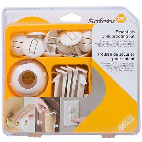 46-Piece Essentials Child Proofing Kit