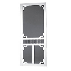 DIY 32-inch x 80-inch Carolina Solid Vinyl Screen Door