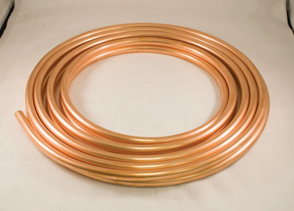 Copper Refrigeration Coil 3/8 Inch x 50 Foot