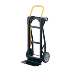Harper Trucks Diable, chariot à plateforme ou incliné à 45 degrés 3 en 1 Steel-Tough(MC) 400 en nylon technique