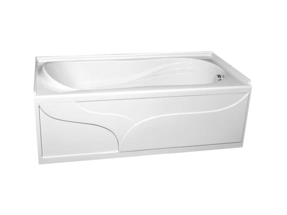 American Standard Plaza Acrylic Bathtub The Home Depot