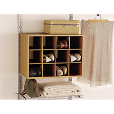 Shoe Cubby Hanging Unit.