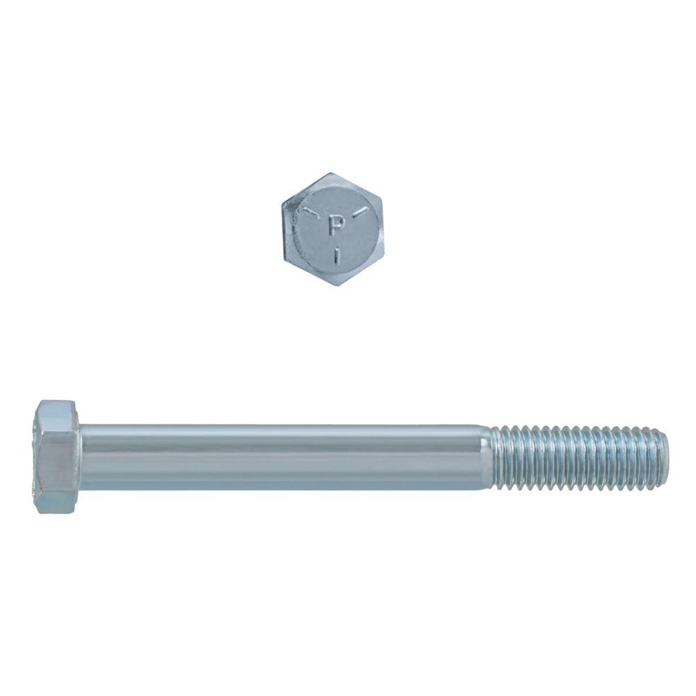 1/2x4-1/2 Boulons Hex Classe 5 Zinc Plaqué Unc