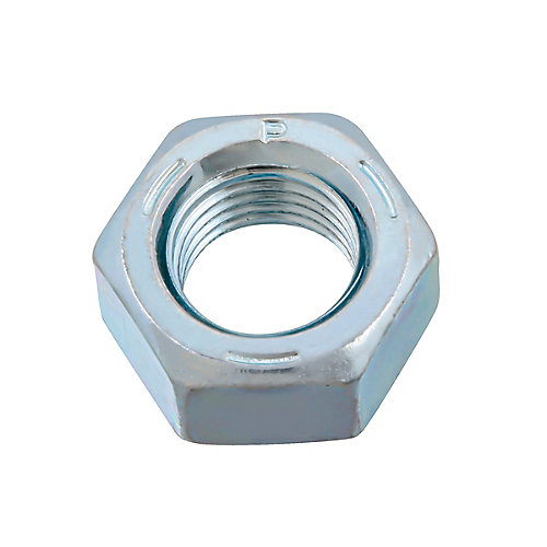 7/16-inch-20 Finished Hex Nut - Zinc Plated - Grade 5 - UNF